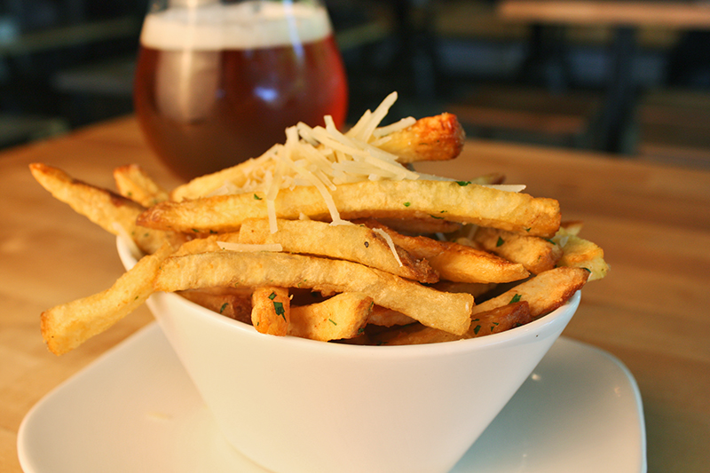 Hops and Sessions Truffle Fries